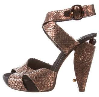 Marc Jacobs Ayers Platform Sandals