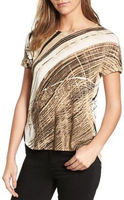 Women's Nic+Zoe Gradient Linen Blend Top $138 thestylecure.com