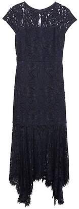 Banana Republic Petite Lace Trumpet Midi Dress