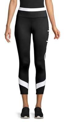 Calvin Klein Colorblock Logo Crop Leggings