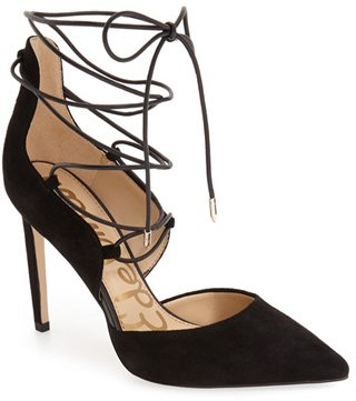 Women's Sam Edelman 'Helaine' Ghillie Pointy Toe Pump $129.95 thestylecure.com