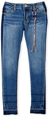 DKNY Girls 7-16) Side Stripe Ankle Skinny Jeans