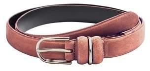 Violeta BY MANGO Buckle leather belt