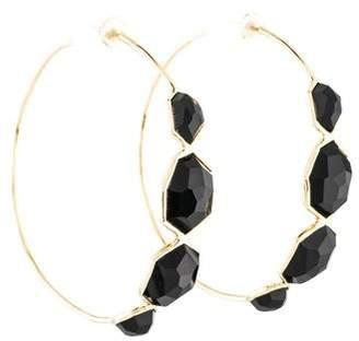 Ippolita 18K Onyx Hoop Earrings