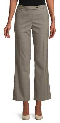 Calvin Klein Petite Ankle-Length Flared Pants
