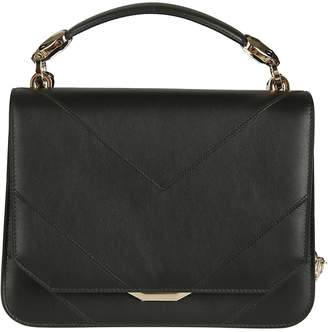 Bulgari Logo Plaque Shoulder Bag