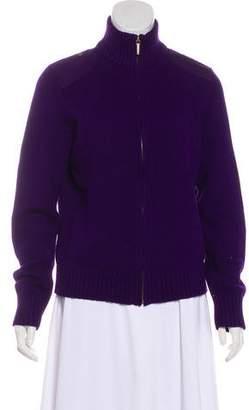 Lauren Ralph Lauren Long Sleeve Zip-Up Cardigan