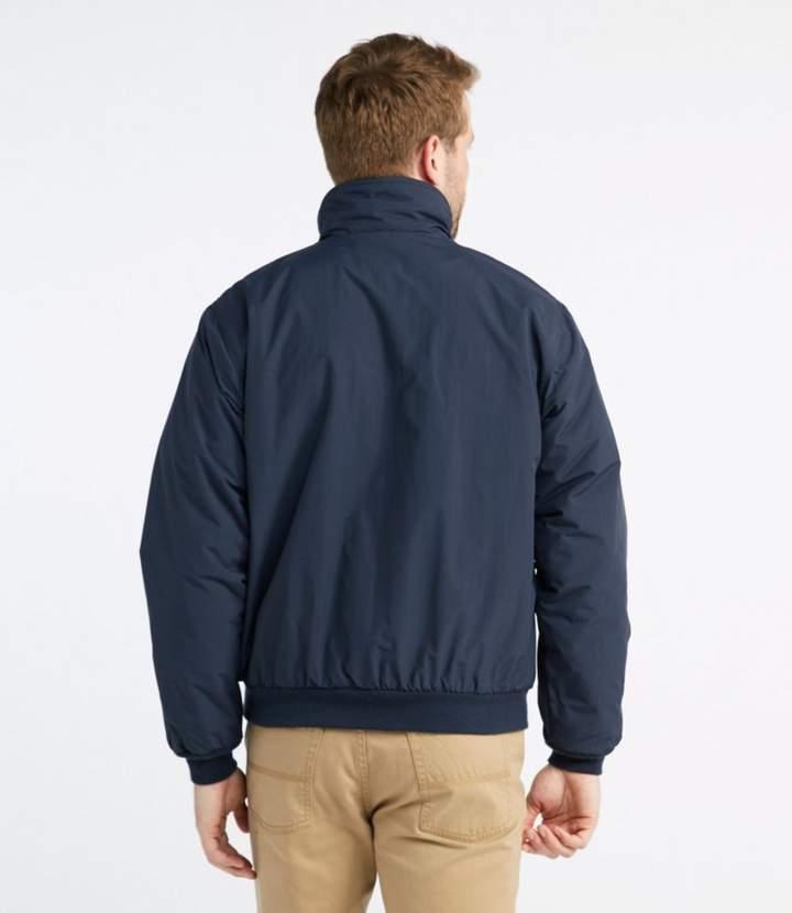 L L Bean Warm Up Jacket Fleece Lined Shopstyle Men