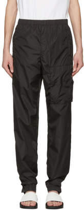 Givenchy Black Nylon Jogging Pants