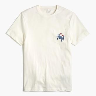 J.Crew Crab pocket T-shirt
