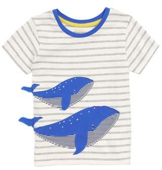 Boden Mini Whale Applique T-Shirt