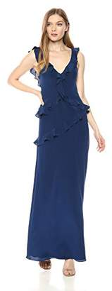 Amanda Uprichard Women's Christiana Ruffle Gown