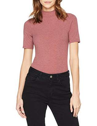 G Star Women's Silber Slim Funnel T-Shirt,X-Large