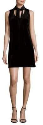 Laundry by Shelli Segal Tie Neck Sleeveless Dress