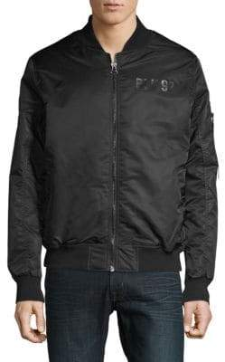 ProjekRaw Printed Bomber Jacket