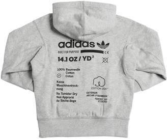 adidas Kaval Zip-Up Cotton Sweatshirt Hoodie