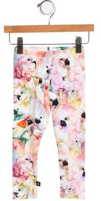 Molo Girls' Printed Leggings