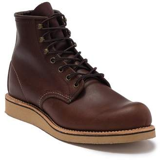 "Red Wing Shoes 6"" Round Leather Boot - Factory Second"