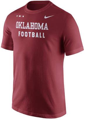 Nike Men's Oklahoma Sooners Facility T-Shirt