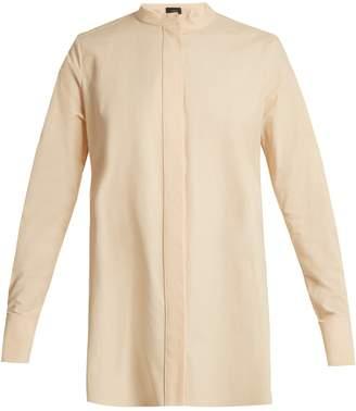 Joseph Carla stand-collar cotton shirt