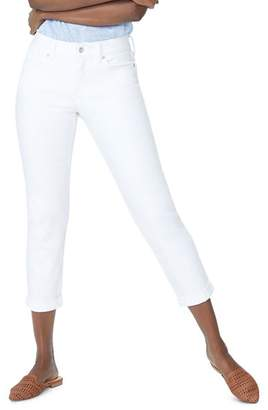 NYDJ Slim Boyfriend Jeans in Optic White