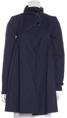Stella McCartney Short Button-Up Coat