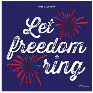 TF PUBLISHING Tf Publishing 2020 Let Freedom Ring Wall Calendar