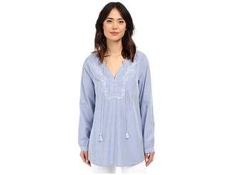 Jag Jeans Embroidered Clara Tunic Women's Blouse