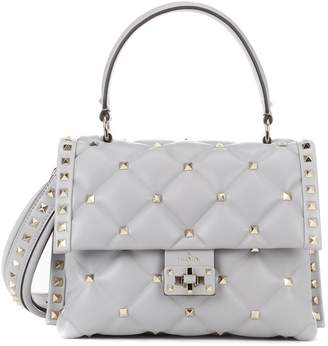 Valentino Candystud leather shoulder bag