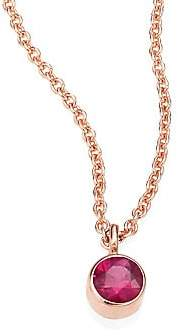 Chicco Zoe Women's Ruby & 14k Rose Gold Choker