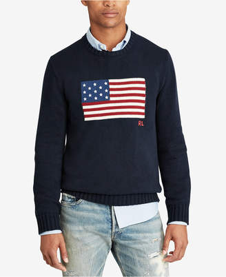 Polo Ralph Lauren Men's Flag Sweater