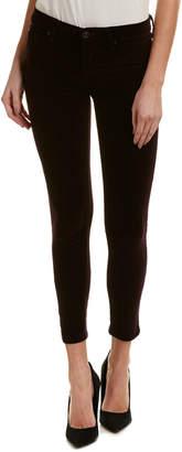 Hudson Jeans Jeans Nico Purple Velvet Ankle Super Skinny Leg