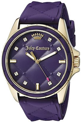 Juicy Couture Women's 1901316 Malibu Analog Display Quartz Purple Watch $184.98 thestylecure.com