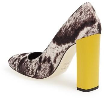 Fendi 'Eloise' Genuine Calf Hair Pump (Women)