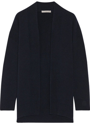 Vince - Cashmere Cardigan - Midnight blue $425 thestylecure.com