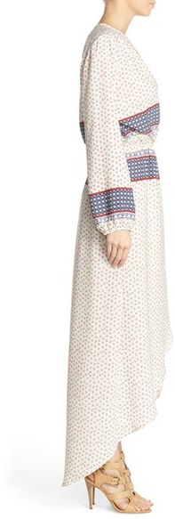 Women's Fraiche By J Print Wrap Maxi Dress 2