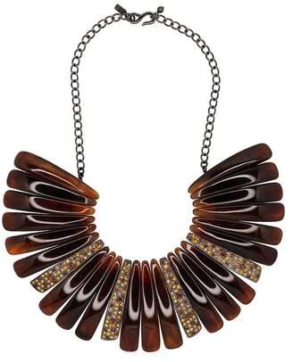 Kenneth Jay Lane Multi Topaz Bib Necklace