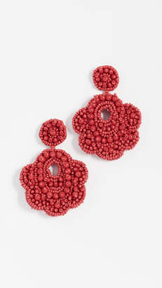BaubleBar Oversized Mixed Bead Statement Drop Earrings