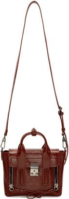3.1 Phillip Lim Burgundy Patent Leather Mini Pashli Satchel $775 thestylecure.com
