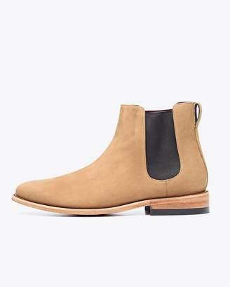 Nisolo Men's Chelsea Boot Stone