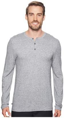 Travis Mathew TravisMathew Kazakos Long Sleeve Henley Men's Long Sleeve Pullover