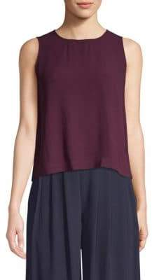 Eileen Fisher Silk Shell Top