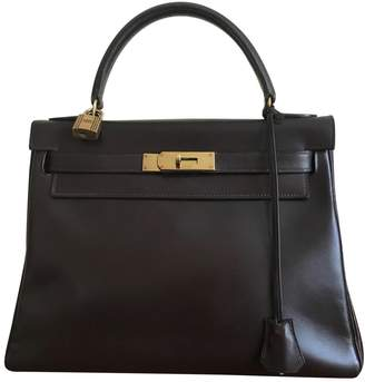 Hermes Kelly Leather Handbag
