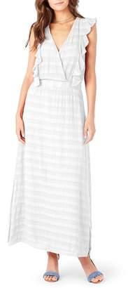 Michael Stars Ruffle Maxi Dress