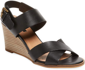 Ava & Aiden Odin Leather Wedge Sandal