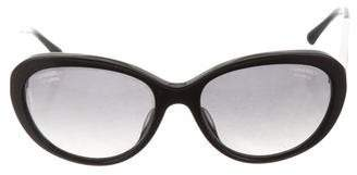 Chanel Polarized Cat-Eye Sunglasses