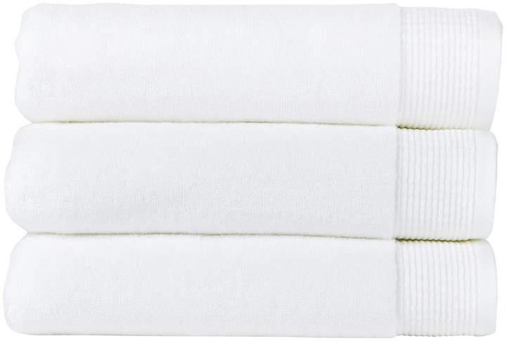 Blossom Towel - White - Face Cloth