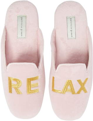 Patricia Green Relax Embroidered Mule Slipper
