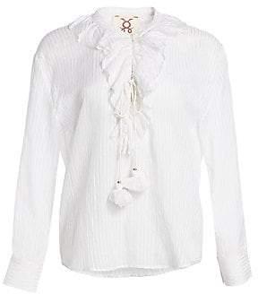 Figue Women's Cerelina Cotton Blouse