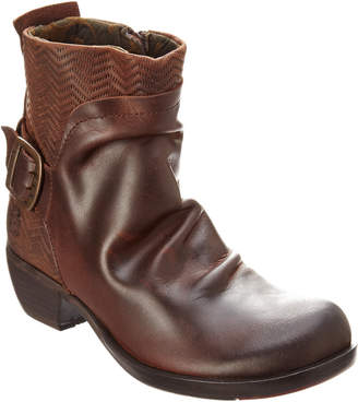 Fly London Melb Leather Bootie